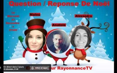 Atelier sur Rayonnance TV YouTube